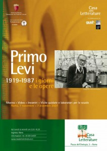 Patrocinio Primo Levi Gush 2007